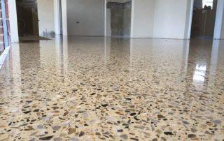 Polished floor concrete Perth
