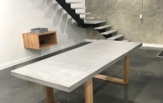 table concrete benchtops