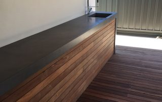 sink concrete benchtops perth