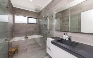 Fancy bathroom concrete benchtops Perth