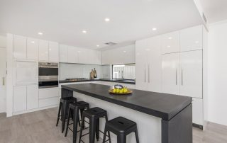 Kitchen concrete benchtops in Perth