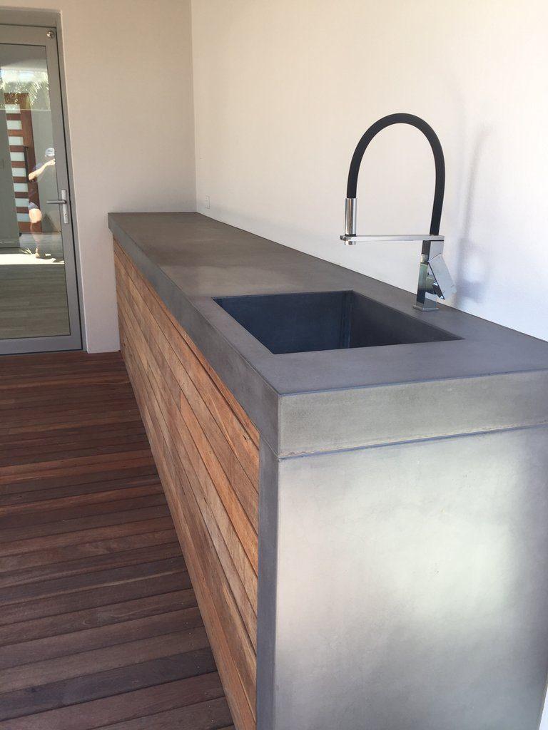 concrete benchtops Perth