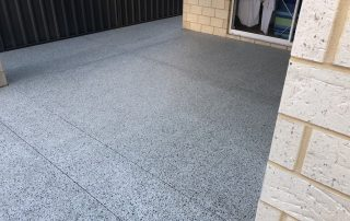 Perth Simple honed concrete