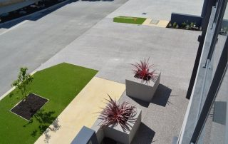 Perth honed concrete outdoor