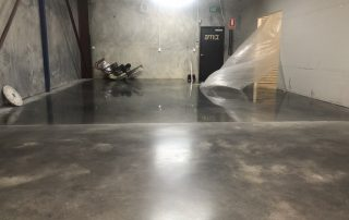 Commercial floor polishing