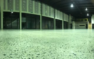 Commercial polished concrete in Perth