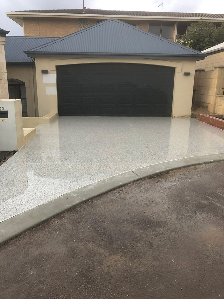 honed concrete Perth